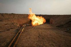 Iraq EBS Oilfield successfully ignites the first torch